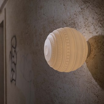 Karman Braille Ceiling/Wall Lamp