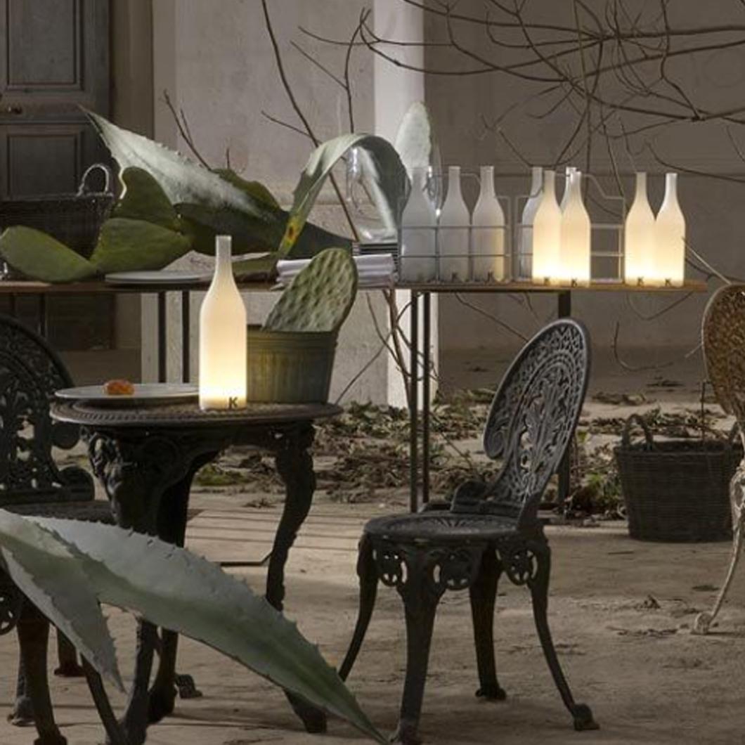 Karman Bacco Portable Cordless Table Lamp Darklight Design Lighting Design Supply