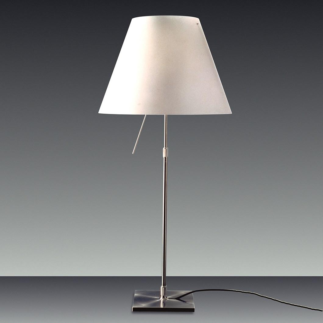 Clearance Luceplan Costanza White Table Lamp Darklight