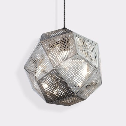 CLEARANCE Tom Dixon Etch Stainless Steel Pendant