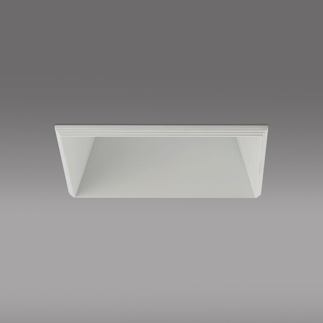 CLEARANCE Darklight Honos LED Square 12W White 25D 4000K Downlight | Image:1