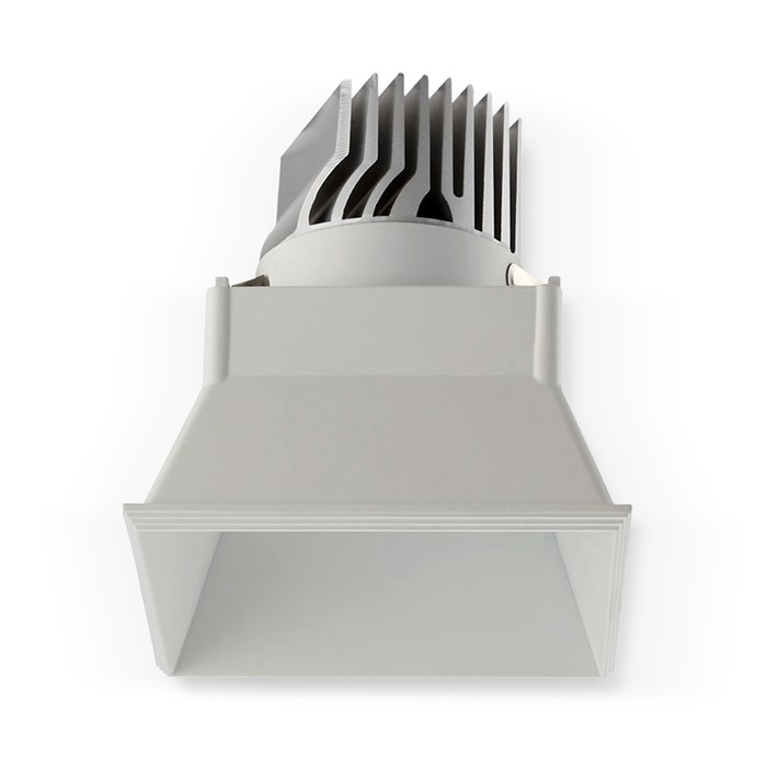 CLEARANCE Darklight Honos LED Square 12W White 25D 4000K Downlight | Image:2