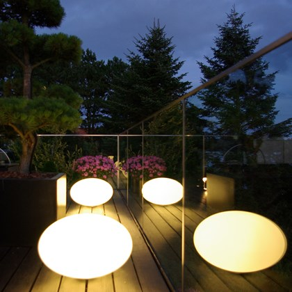 CPH Lighting Eggy Pop Out Exterior Floor Lamp