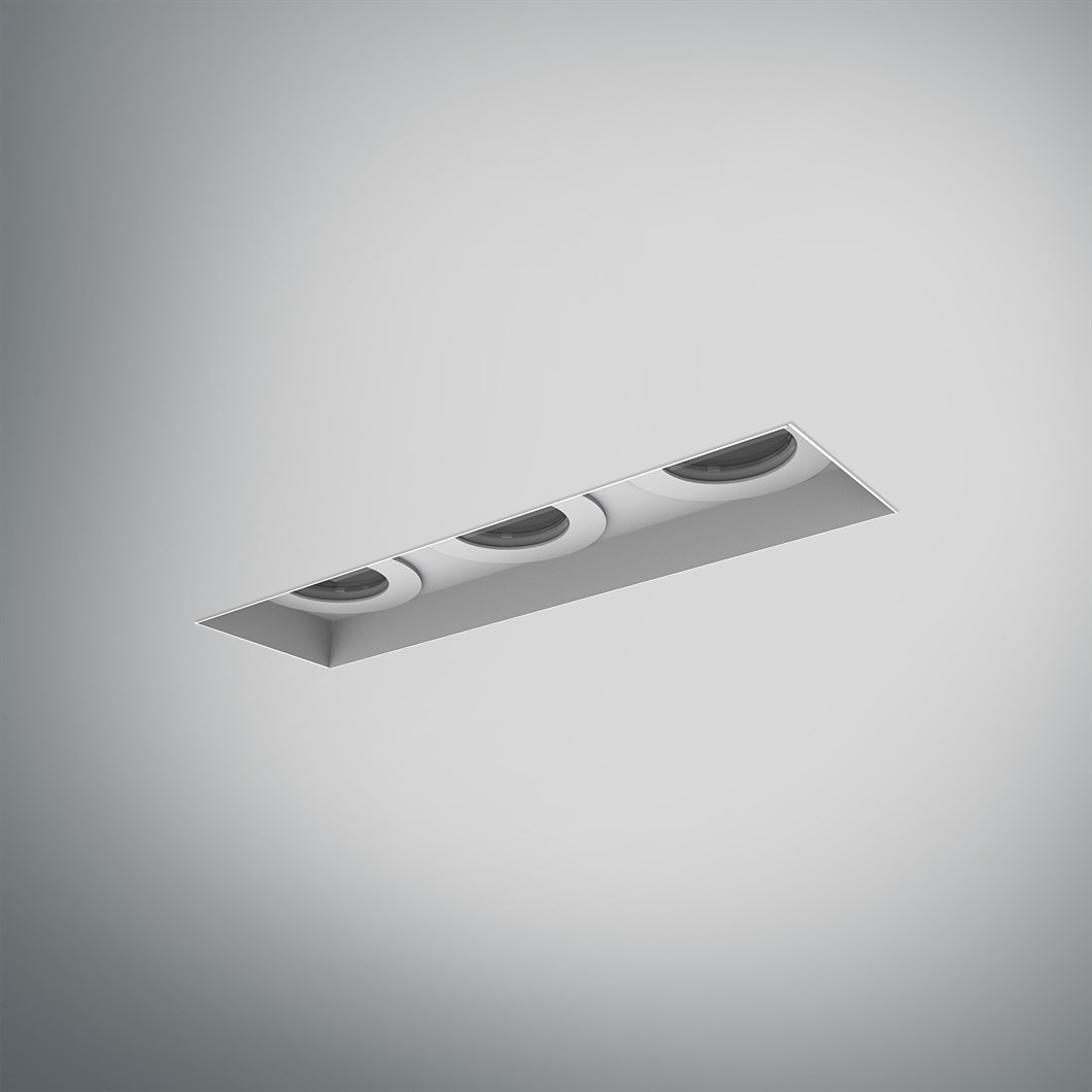 DLD Eiger 3 LED IP44 Recessed Plaster In Downlight| Image:1