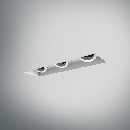 DLD Eiger 3 LED Recessed Adjustable Plaster In Downlight