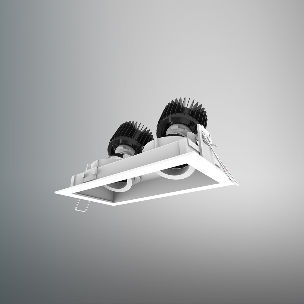DLD Eiger 2 LED Recessed Adjustable Downlight| Image:1