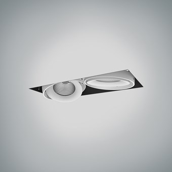DLD Fuji Double LED Adjustable Plaster In Downlight - Next Day Delivery