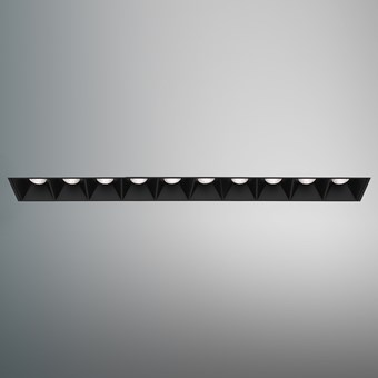 DLD Surf 10 LED Plaster In Recessed Downlight
