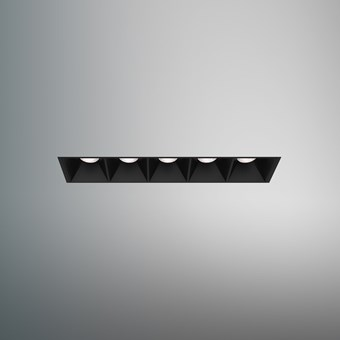 DLD Surf 5 LED Plaster In Recessed Downlight