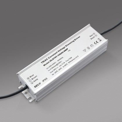 DLD 24V 75W TRIAC Dim IP65 Constant Voltage Driver