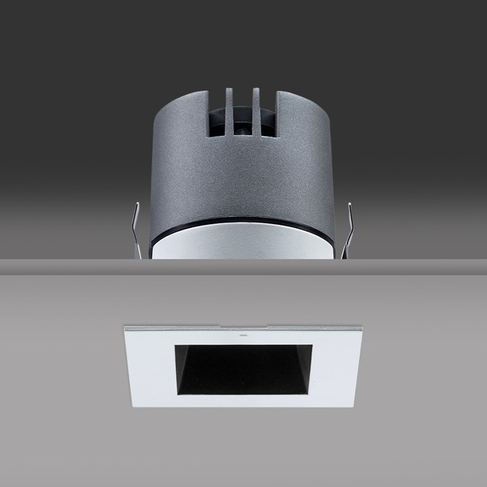 DLD Vigo Mini Square LED Recessed Downlight| Image:1