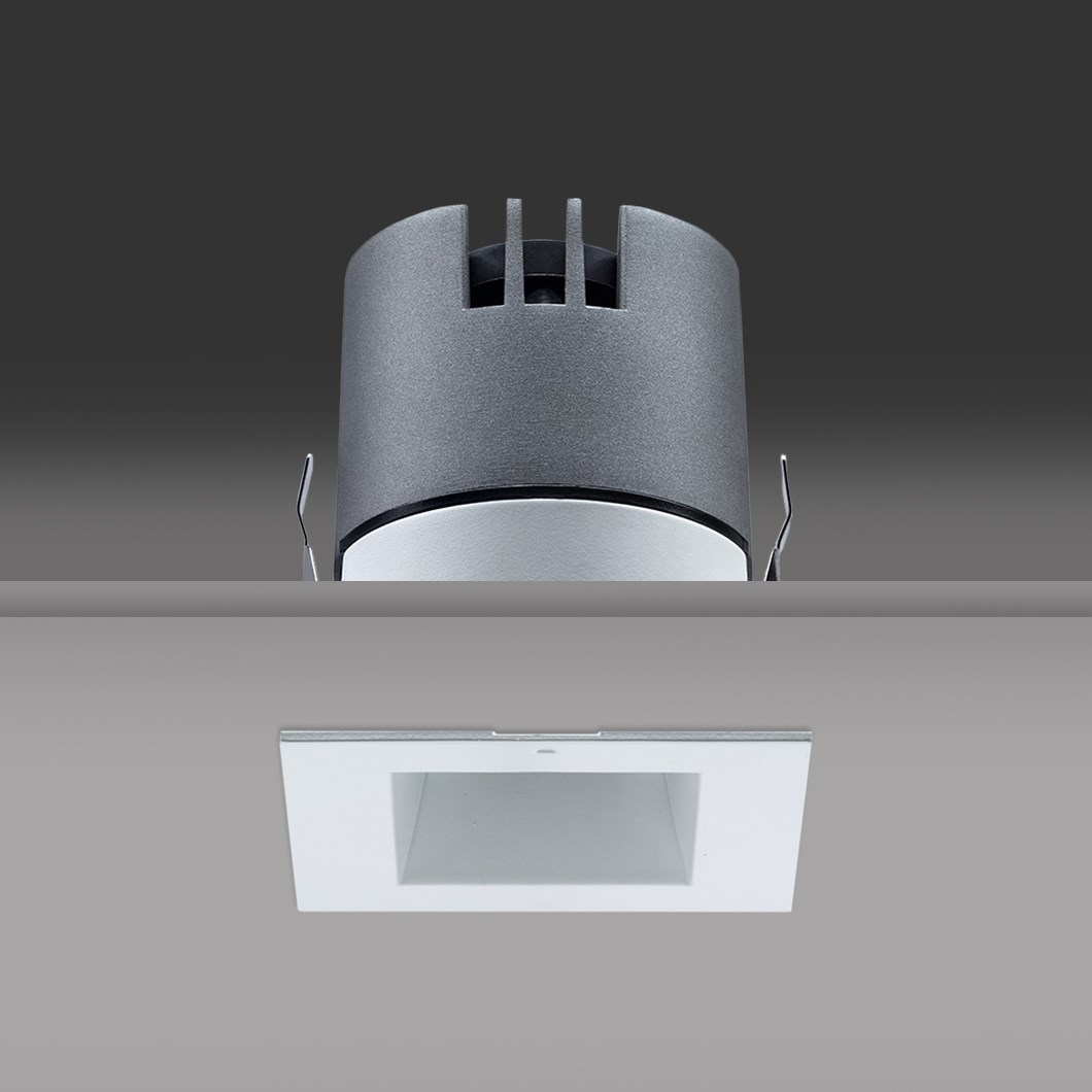 DLD Vigo Mini Square LED Recessed Downlight| Image : 1