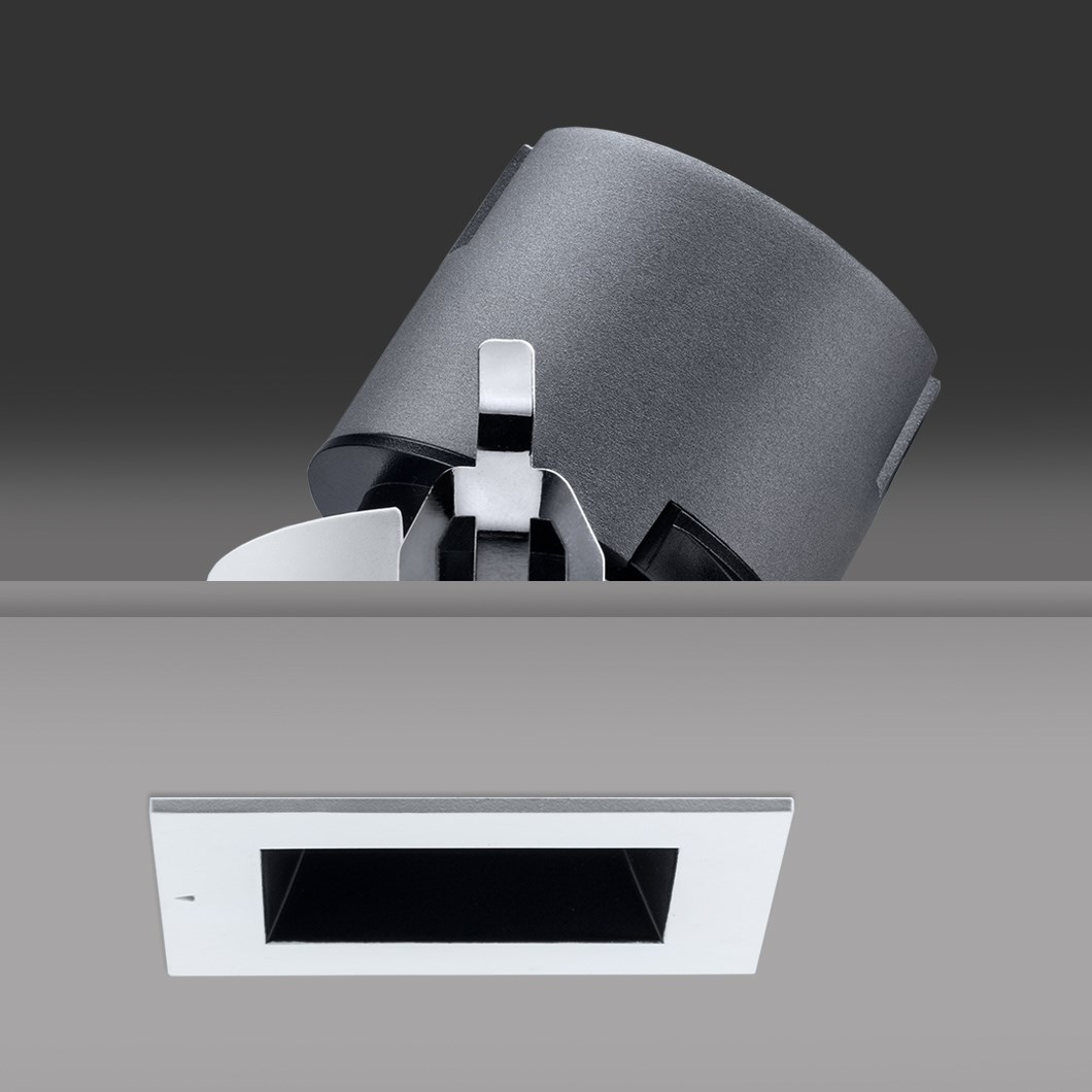 DLD Vigo Square LED Recessed Adjustable Downlight| Image : 1