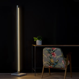 Darklight Design Cast Concrete LED Floor Lamp