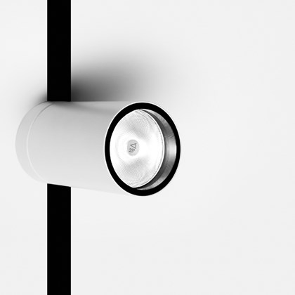 Davide Groppi Dot Frameless Semi Recessed Spotlight