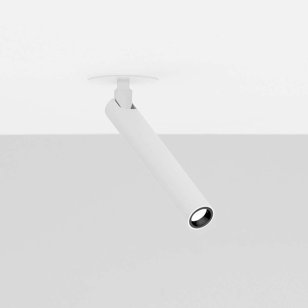 Davide Groppi Mira Semi Recessed Spotlight| Image : 1
