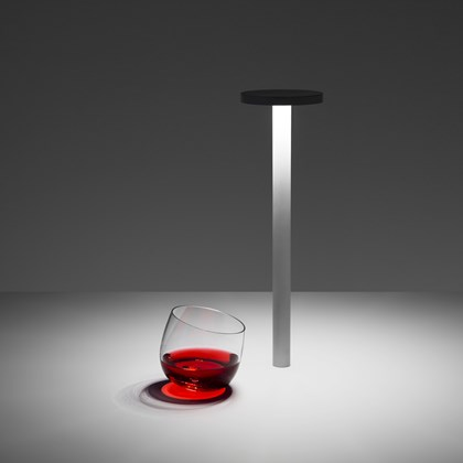 Davide Groppi Tetatet Portable Cordless LED Table Lamp