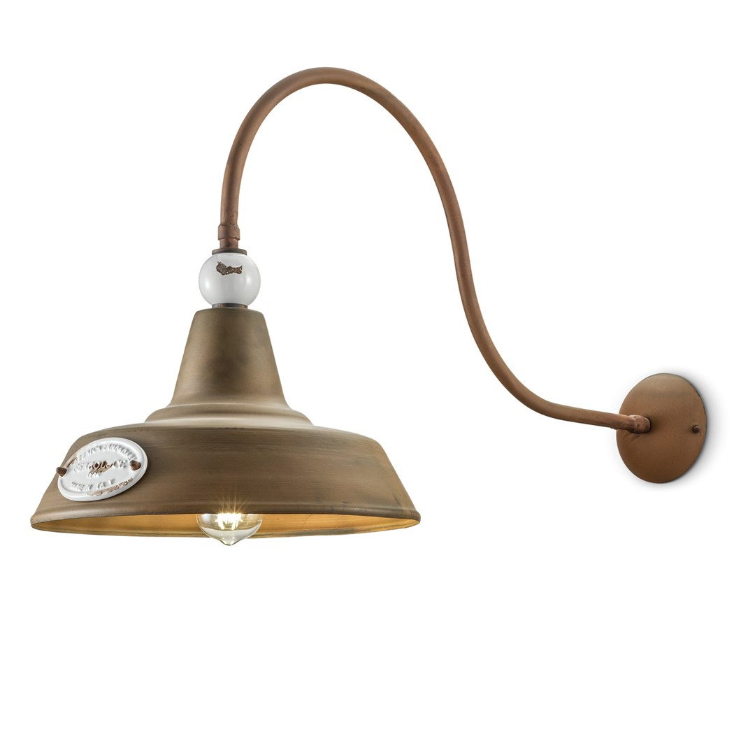 Ferroluce Retro Grunge C1602 Wall Light| Image : 1