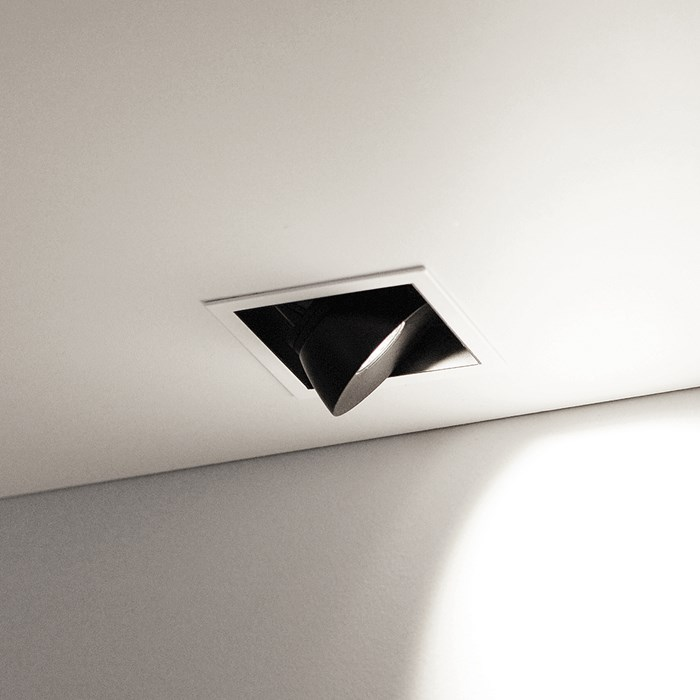 Flexalighting Lollo 10 LED Recessed Directional Downlight| Image : 1
