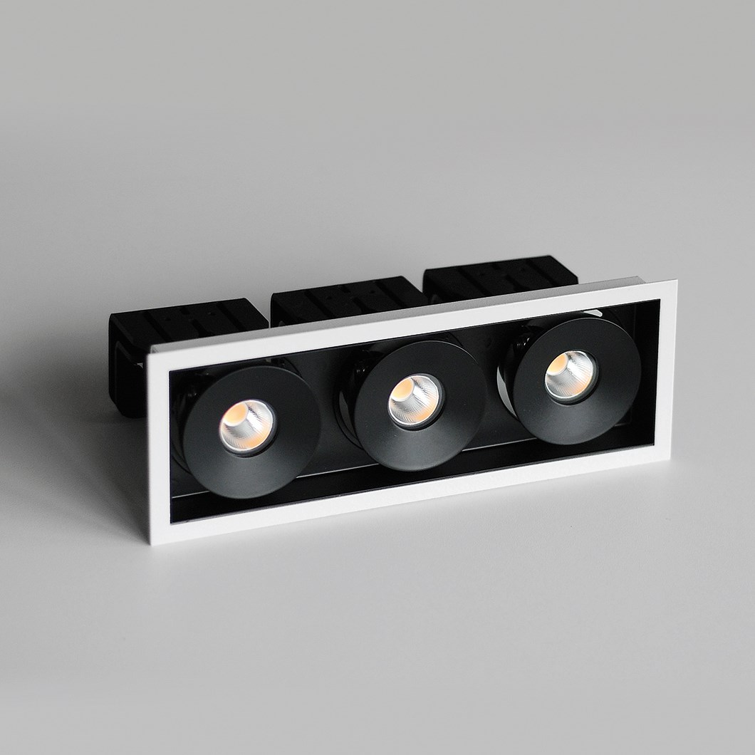 Flexalighting Lollo X130 LED Recessed Directional Downlight| Image : 1