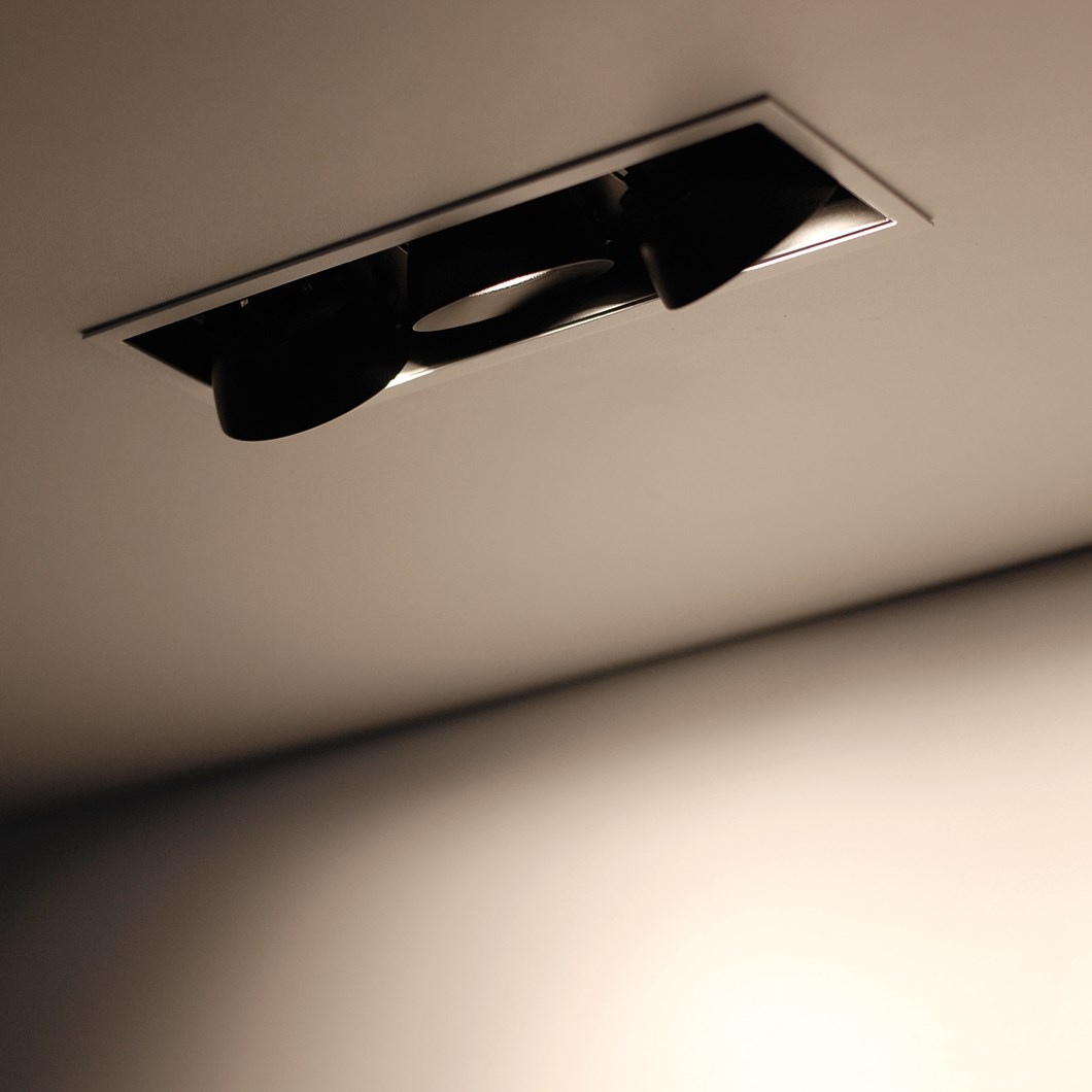 Flexalighting Lollo X130 LED Recessed Directional Downlight| Image:1