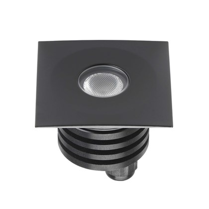 Flexalighting Fatboy 2 Square LED IP67 Recessed Floor Uplight