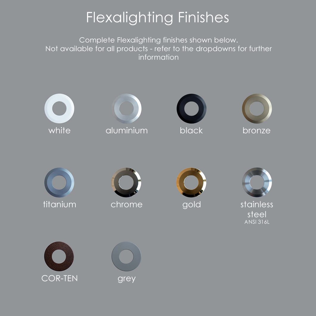 Flexalighting Jena 6 IP67 Adjustable Recessed Floor Uplight | Image:4