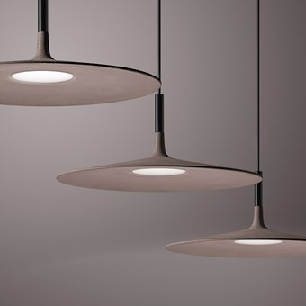 Foscarini Aplomb Large Concrete LED Pendant