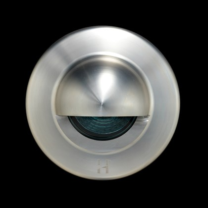 Hunza Euro Step Lite Seamless Eyelid Exterior IP66 Wall Light