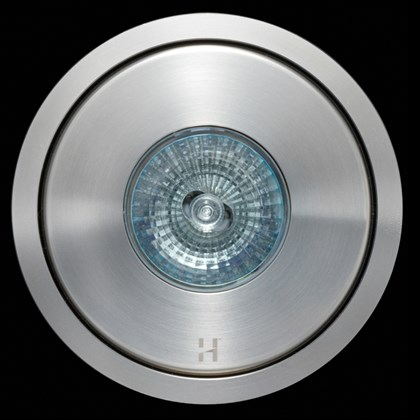 Hunza Flush Floor Lite Round Exterior In-Ground Recessed IP66 Uplight