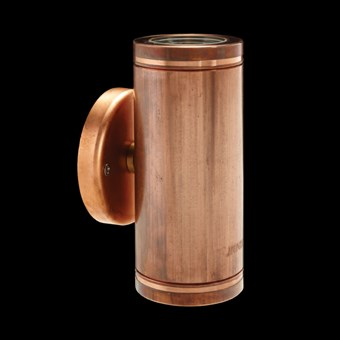 Hunza Pillar Lite Exterior IP66 Wall Light
