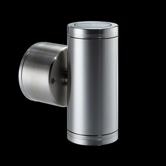 Hunza Pillar Lite Retro Exterior IP66 Wall Light