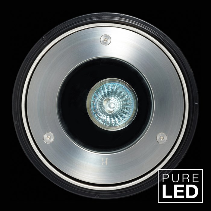 Hunza Pure LED Driveway Lite Exterior In-Ground Recessed IP66 Uplight| Image : 1