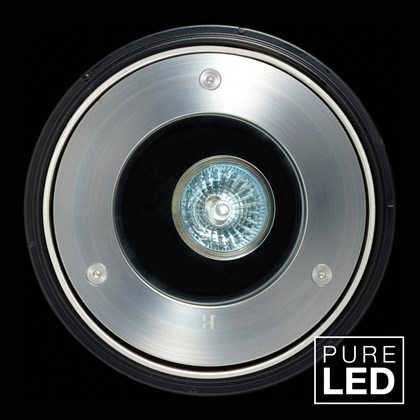 Hunza Pure LED Driveway Lite Exterior In-Ground Recessed IP66 Uplight