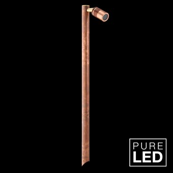 Hunza Pure LED Euro Single Pole Lite Exterior IP66 Spot Light