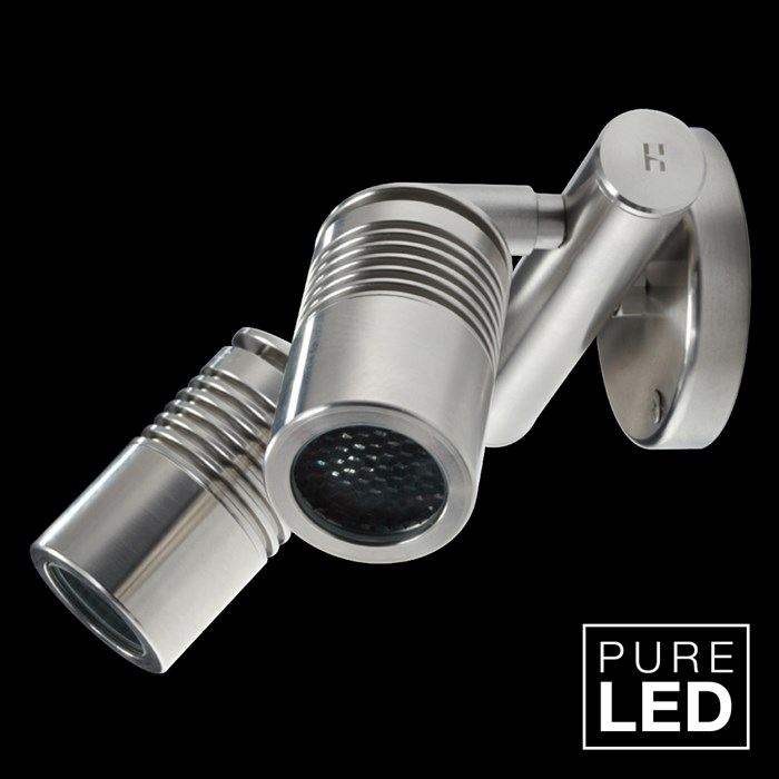 Hunza Pure LED Euro Twin Wall Spot Exterior IP66 Spot Light | Image:1