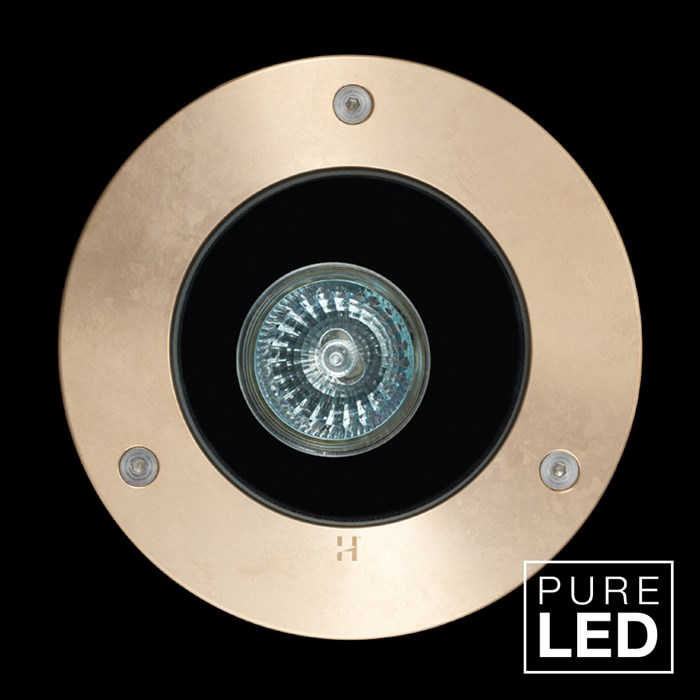 Hunza Pure LED Lawn Lite Exterior In-Ground Recessed IP66 Uplight| Image : 1