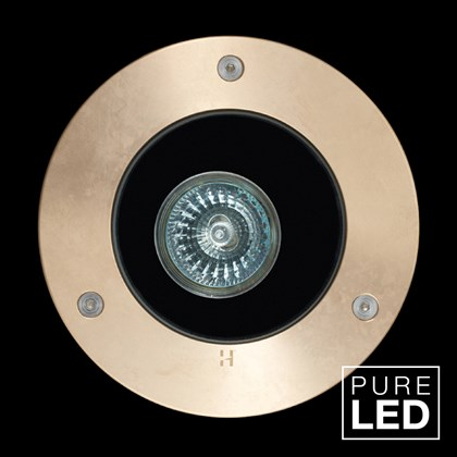 Hunza Pure LED Lawn Lite Exterior In-Ground Recessed IP66 Uplight