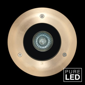 Hunza Pure LED Lawn Lite Deck Mount Exterior In-Ground Recessed IP66 Uplight