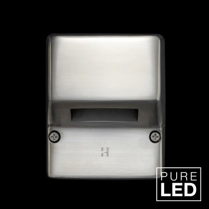 Hunza Pure LED Mouse Lite Square Exterior IP66 Wall Light