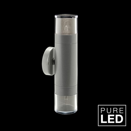 Hunza Pure LED Pagoda Double Lite Exterior IP66 Wall Light