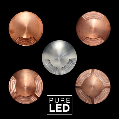 Hunza Pure LED Recessed Path Lite IP66 Exterior Recessed Path Light
