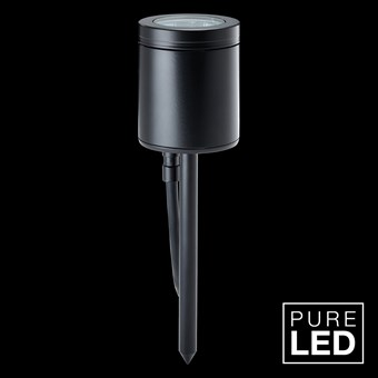Hunza Pure LED Spike Spot Exterior IP66 Spot Light