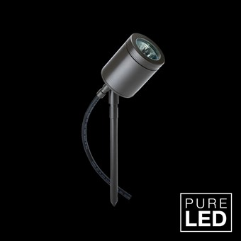 Hunza Pure LED Spike Spot Exterior IP66 Adjustable Spot Light