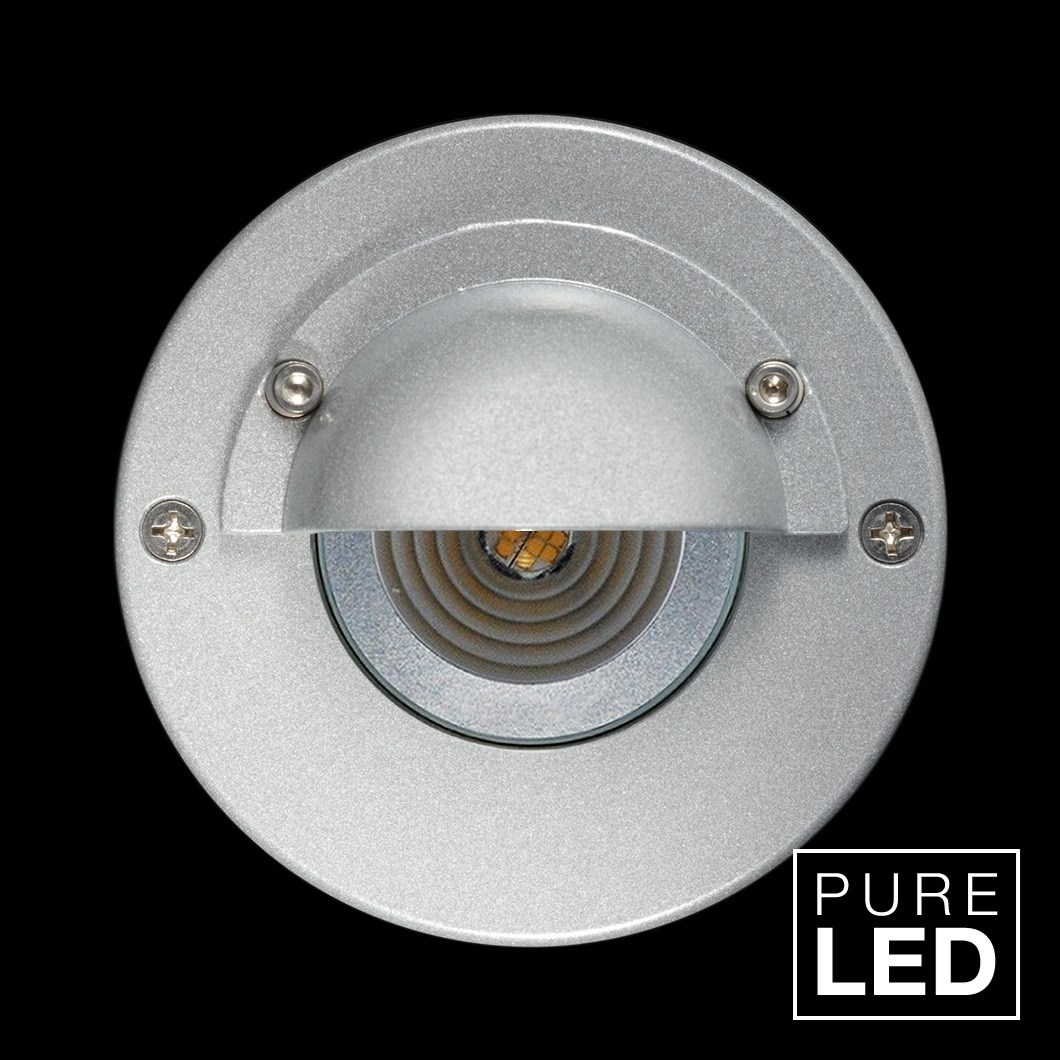 Hunza Pure Led Step Lite Eyelid Round Exterior Ip66 Low