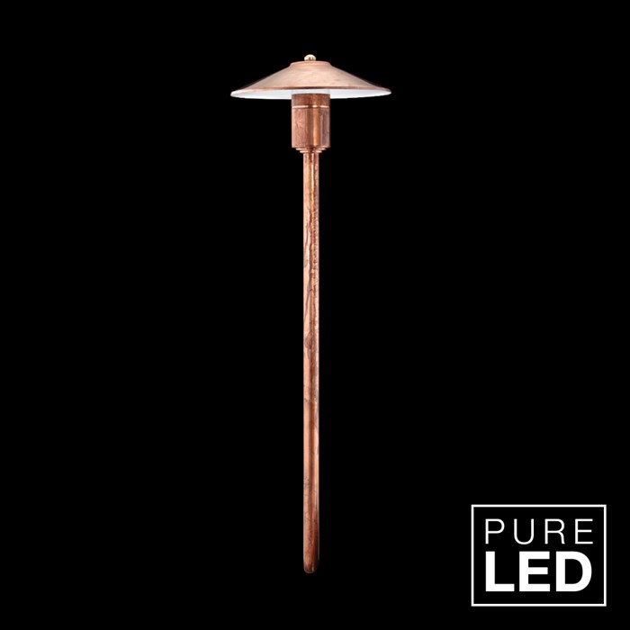 Hunza Pure LED Tier Lite Exterior IP66 Spike Mounted Bollard Light| Image : 1