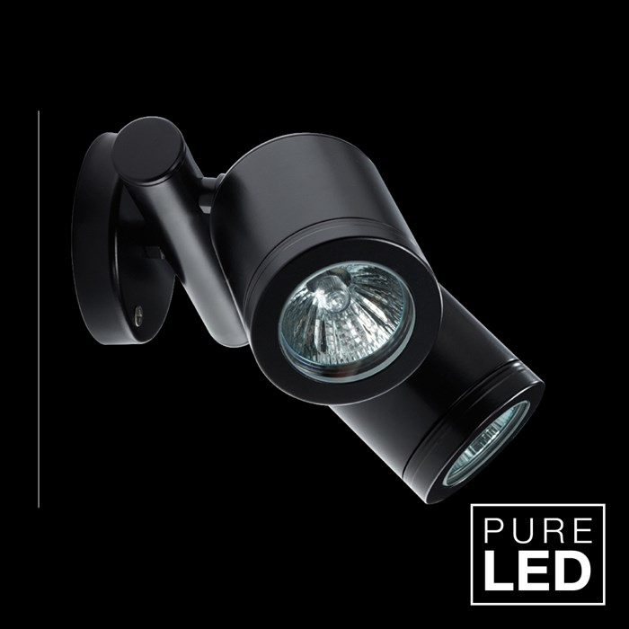 Hunza Pure LED Twin Wall Spot Exterior IP66 Spot Light| Image : 1