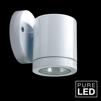Hunza Pure LED Wall Down Lite Exterior IP66 Wall Light