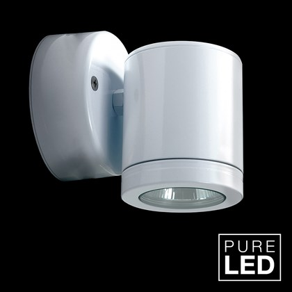 Hunza Pure LED Wall Down Lite Retro Exterior IP66 Wall Light