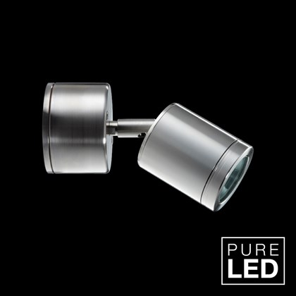 Hunza Pure LED Wall Spot Retro Exterior IP66 Spot Light